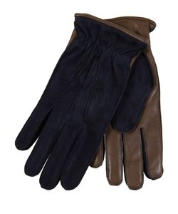 Restelli | Suede And Nappa Gloves With Angora Lining