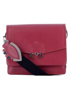 Paula Cademartori | Magenta Leather Shoulder Bag