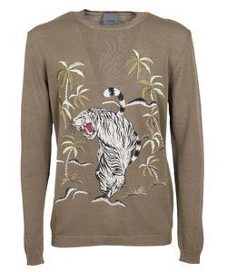 Laneus | Jungle Print Sweatshirt