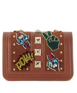 Gedebe | Bibi Camel Leather Shoulder Bag