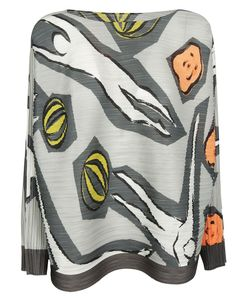 Pleats Please By Issey Miyake | Printed Top