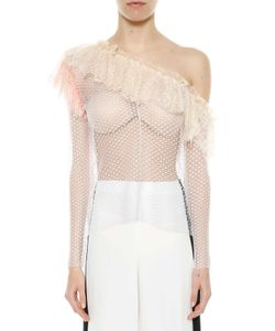 Philosophy di Lorenzo Serafini | One-Shoulder Top With Frills