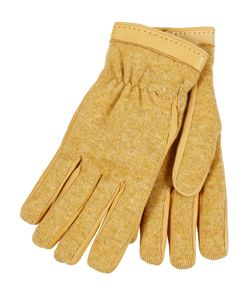 Restelli | Deer Gloves With Angora Insert