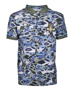 Les Hommes | Camouflage Polo Shirt