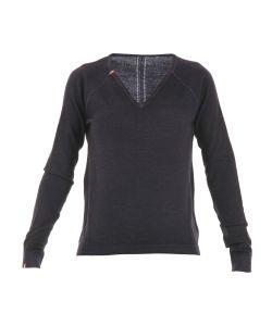 Sun 68 | V Neck Pure Wool Sweater