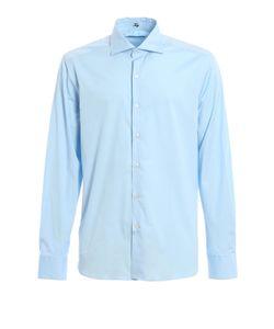 Fay | Spread Collar Stretch Shirt