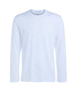 Comme Des Garçons | T-Shirt Shirt Bianca Logo Stampato