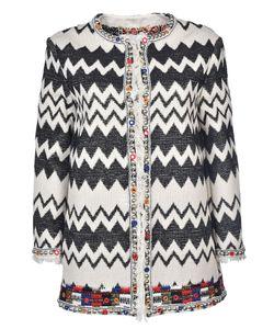 Bazar Deluxe   Zigzag Pattern Cardigan