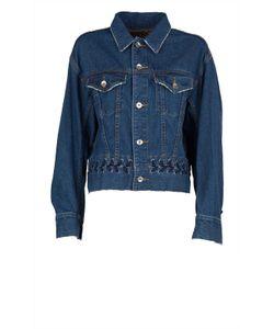 G.V.G.V. | G.V.G.V. Lace-Up Cotton-Denim Jacket