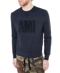 AMI Alexandre Mattiussi   Ami Logo Detail Sweatshirt