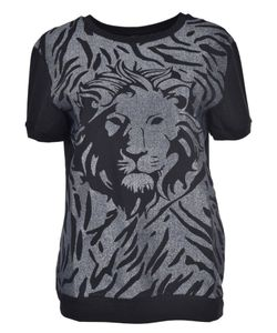 Versus | Lion Head Print T-Shirt