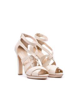 Blugirl | Leather Platform Sandals