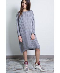 Altalana | Mixed Viscose/Silk Long Sleeves Dress