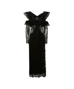 Alessandra Rich | Satin And Lace Dress