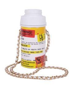 Moschino   Pill Pot Shoulder Bag