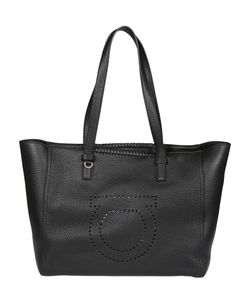 Salvatore Ferragamo | Perforated Gancio Tote