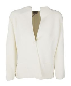 Armani Collezioni | Flappy Collar Fitted Jacket
