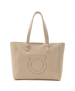 Salvatore Ferragamo | Marta Pebbled-Leather Tote Bag