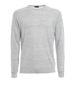 Z Zegna | Melange Linen And Cotton Sweater