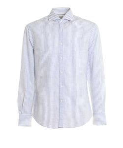 Brunello Cucinelli | Striped Pattern Cotton Shirt