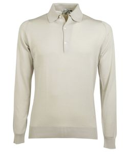 John Smedley | Long Sleeve Polo Shirt