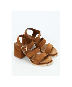 Tod's | 19a Multi Strap Suede Sandals