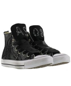 Converse | Lace Glitter Sneakers