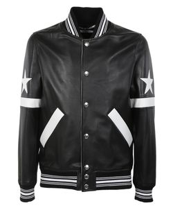 Givenchy | Star And Stripe Applique Bomber