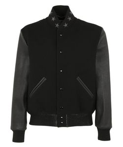 Saint Laurent | Star Collar Teddy Jacket