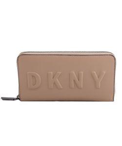 DKNY   Debossed Logo Zip Around Wallet
