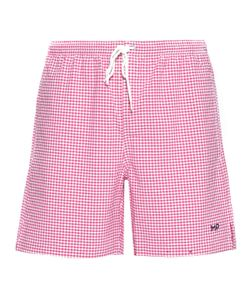 Mp Massimo Piombo | Checked Shorts