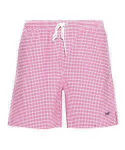 Mp Massimo Piombo   Checked Shorts
