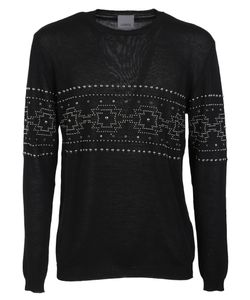 Laneus | Studded Sweatshirt