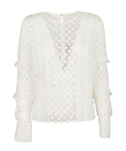 Self-Portrait | Daisy Frill Detail Blouse