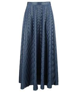 Golden Goose | Pleated Herringbone Skirt