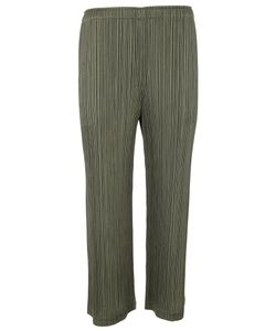Pleats Please By Issey Miyake | Pleats Please Issey Miyake Cropped Trousers