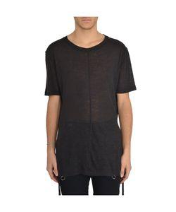 D.Gnak | 7569 Pierced Hem T-Shirt