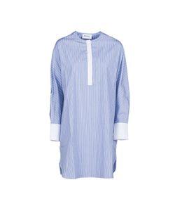 Harmony Paris | Collarless Shirt Dress