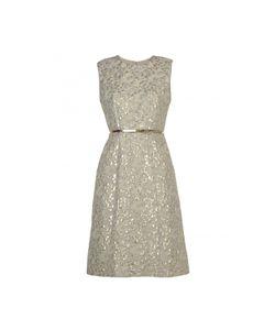 Max Mara   Dress With Metallised Fibre Embroideries