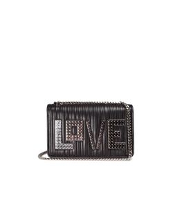 Les Petits Joueurs | Mini Janis Love Leather Shoulder Bag