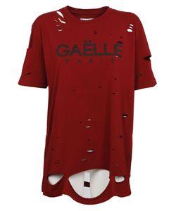 Gaelle Bonheur | Distressed T-Shirt