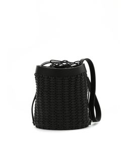 Paco Rabanne | Leather Discs Bucket Bag