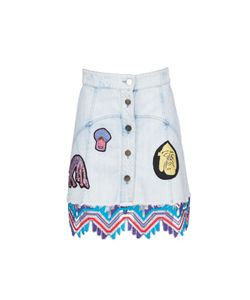 Peter Pilotto | Embroidered Patch Skirt