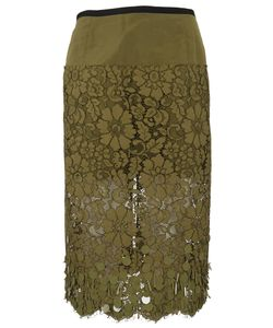 Dries Van Noten | Sloane Lace Skirt