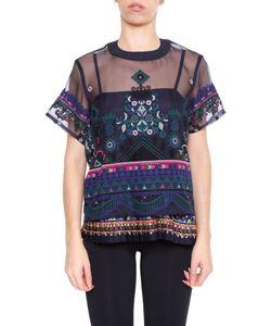 Sacai | Tribal Lace T-Shirt