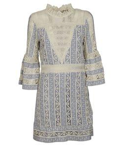 Sea | Crochet Bell Sleeve Dress
