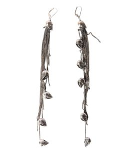 Ugo Cacciatori | Earrings With Skulls And Chain