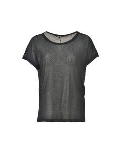Ann Demeulemeester | Ribbed See-Through T-Shirt