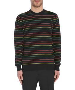 PS Paul Smith | Textured Stripes Jumper