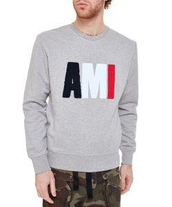 AMI Alexandre Mattiussi   Ami Logo Sweatshirt